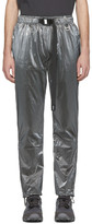 C2H4 Silver STAI Buckle Track Pants