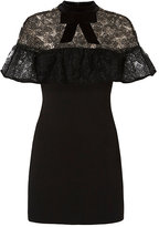 Self-Portrait Lace Overlay Dress