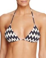 Tori Praver Kalani Zigzag Bikini Top
