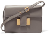 Tom Ford Sienna Small Leather Shoulder Bag - Gray