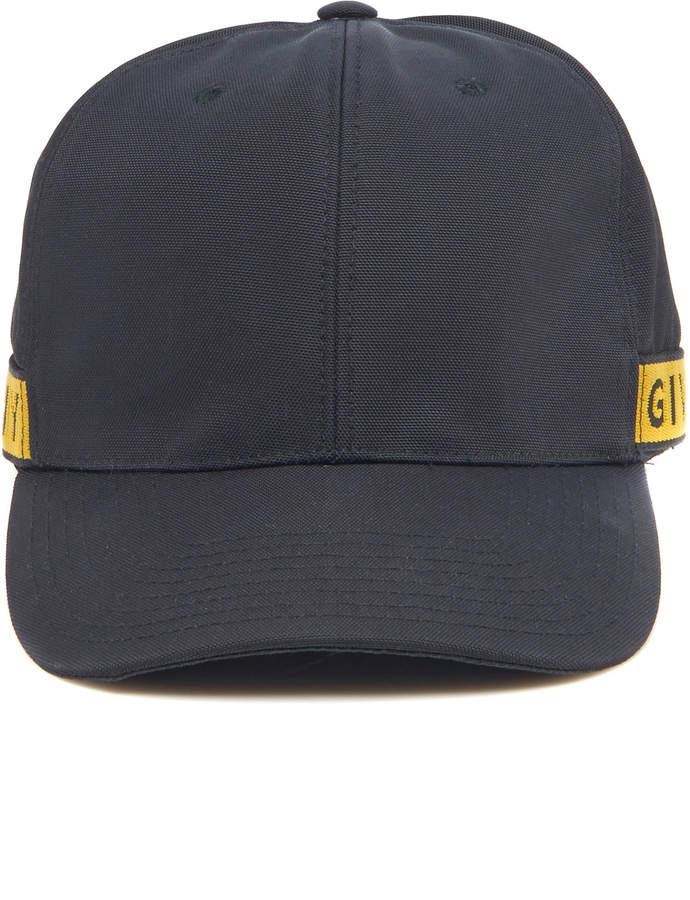 Givenchy Logo-Trimmed Canvas Baseball Cap
