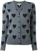 Burberry heart intarsia cardigan