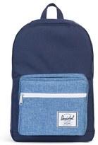 Herschel Men's 'Pop Quiz' Backpack - Blue