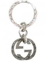 Gucci interlocking G keyring