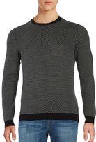 HUGO BOSS Geometric Knit Sweater