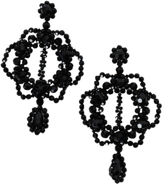 Simone Rocha Crystal Chandelier Earrings