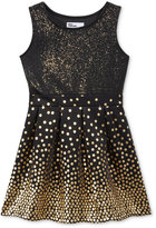 Epic Threads Polka-Dot Fit & Flare Dress, Toddler & Little Girls (2T-6X), Only at Macy's