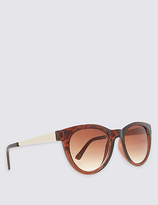 M&S Collection Metal Arm Cat Eye Sunglasses