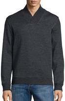 Perry Ellis Textured Cotton-Blend Sweater
