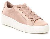 Steve Madden Bertie Satin Lace Up Flatform Sneaker