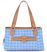 Rosetti Jacquard Triple Entry Satchel