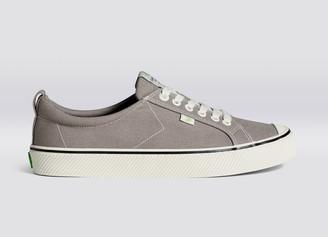 Cariuma OCA Low Stripe Mystic Grey Canvas Sneaker Men