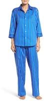 Lauren Ralph Lauren Women's Stripe Sateen Pajamas