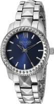 SO & CO New York Women's 5072.2 Madison Analog Display Quartz Silver Watch