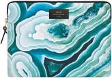 Blue Mineral Laptop Case