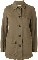 Dries Van Noten single breasted military jacket