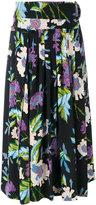 Diane von Furstenberg mid-length floral skirt