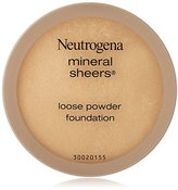 Neutrogena Mineral Sheers Loose Powder, Buff, 0.19 Ounce