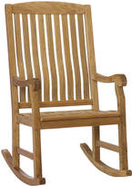 Asstd National Brand Finnigan Outdoor Teak Porch Rocker