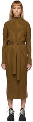 Proenza Schouler Brown Slouchy Mid Length Dress