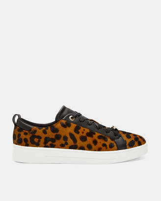Ted Baker ELZSEEL Leopard print trainers