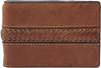 Fossil Francis Leather Money Clip Wallet