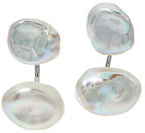 Honora As Is Cultured Pearl Keshi Sterling Stud Earring Jackets