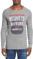 Lucky Brand Nashville Guitar Thermal T-Shirt