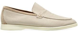 Loro Piana Summer Walk Textured Loafers