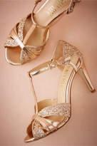 BHLDN Lucia T-Strap Heels