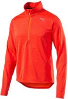 Puma Men's Quarter-Zip Running Pullover