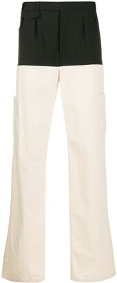 Raf Simons Colour Block Trousers