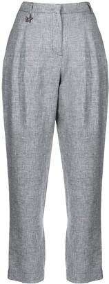 Lorena Antoniazzi high-waisted tapered-leg trousers
