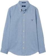 Gant Boys Tech Prep Oxford Gingham Shirt