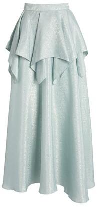 Rodarte Ruffled Jacquard Skirt