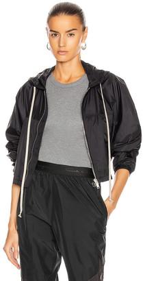 Rick Owens Mini Windbreaker Jacket in Black | FWRD