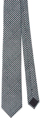 Prada All-Over Print Tie