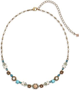 Sorrelli Boho Stone & Crystal Necklace