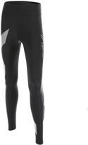 2XU Black Hyoptik Mid-Rise Leggings