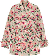 Cath Kidston Magnolia Printed Trench Coat