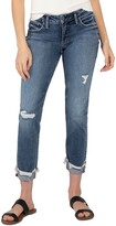 Thumbnail for your product : Silver Jeans Co. Distressed Boyfriend Jeans