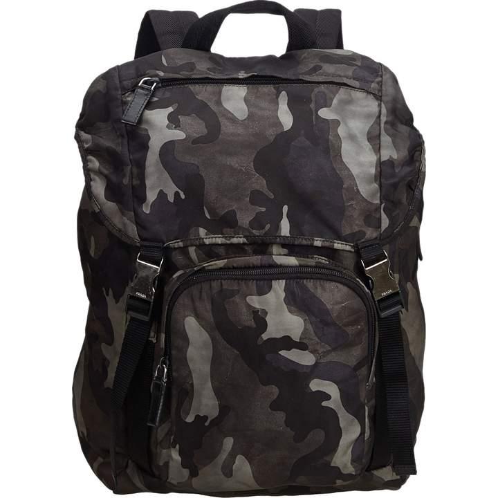 ad12efa6ebd9 Prada Black Backpacks For Women - ShopStyle UK