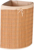 Honey-Can-Do Wicker Corner Laundry Hamper