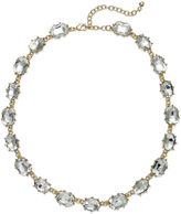 Charter Club Gold-Tone Crystal Collar Necklace
