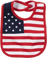 Carter's 4th of July Flag Bib - newborn-24m