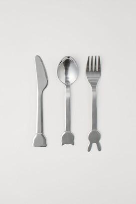 H&M 3-piece Cutlery Set