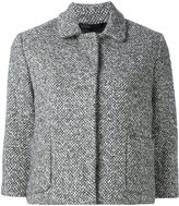 Eleventy button down cropped jacket