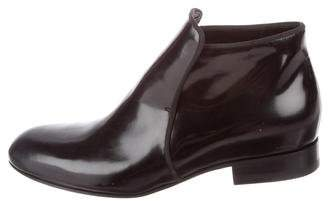 Celine Leather Ankle Boots