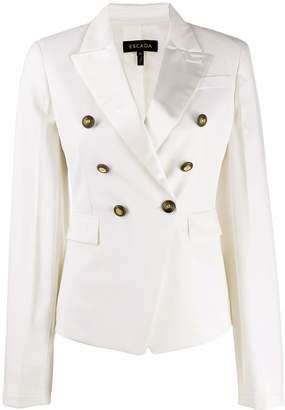 Escada double-breasted tailored blazer