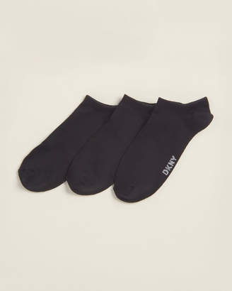 Donna Karan 3-Pack Super Soft Low Cut Socks